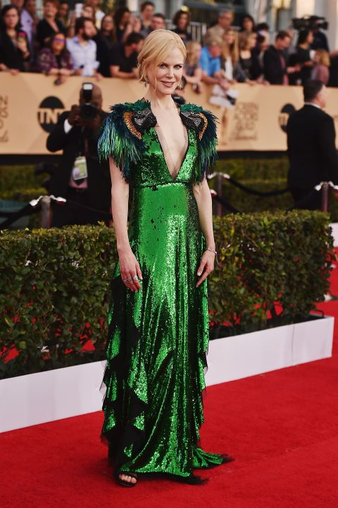 See who stunned and shined on the 2017 SAG Awards red carpet: Nicole Kidman