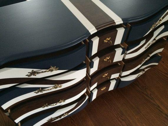 painted furniture union jack autumn vignette. Painted Furniture Union Jack Autumn Vignette. Wonderful Vignette Dresser A