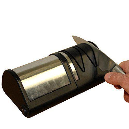 Aiguiseur Electrique Couteaux Métal ou Céramique – Disques Abrasifs Diamantés: Tweet – Devenez la fine lame de l'aiguisage ! L'aiguiseur…