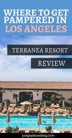 Staycation in Los Angeles? Or a weekend of total relaxation just outside the city? Then you have to check out Terranea Resort in Los Angeles, a beautiful resort with amazing views | Where to stay in Los Angeles | Los Angeles hotels luxury | Los Angeles wi