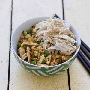 I Quit Sugar - Cauliflower Fried Rice with Chicken