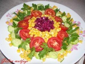 AKDENİZ SALATASI: Salatamezesalad Appetizers