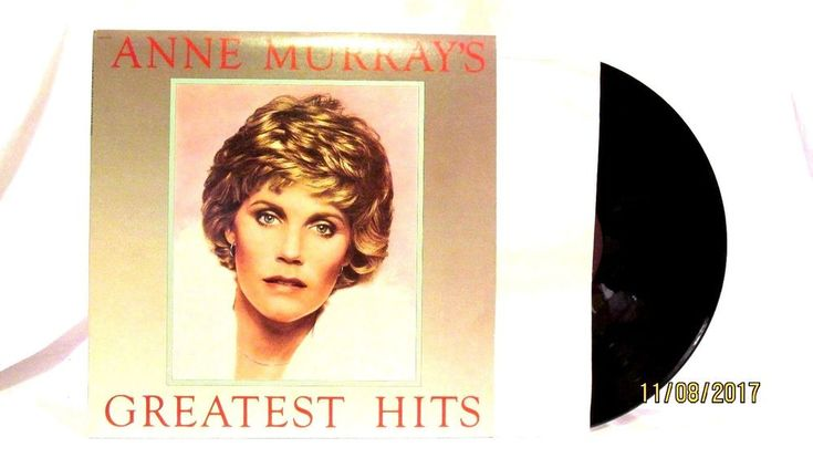 1980 Anne Murray Greatest Hits Vinyl LP 33 Capitol Records SOO12110 #FolkCountryRock