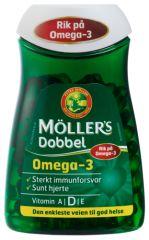 MÖLLER'S DOBBEL OMEGA-3 fra Mollersdirekte. Om denne nettbutikken: http://nettbutikknytt.no/mollersdirekte/