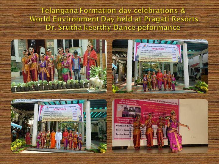 World Environment Day and Telangana Formation Day Celebrated at Pragati