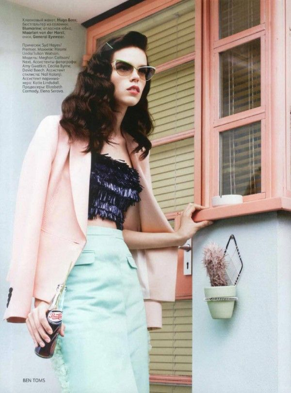 Meghan Collison for Vogue Rusia