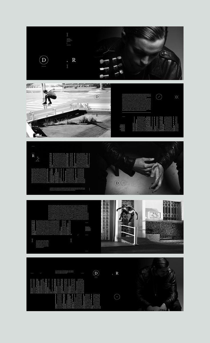 Dylan Rieder feature. #editorialdesign #layout #typography #monsterchildren #printdesign