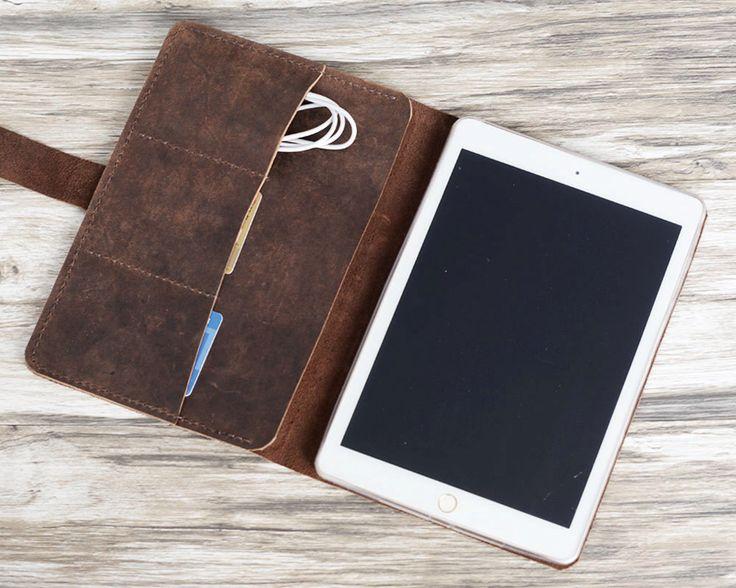 Personnalisé mini d'ipad Leather Case, iPad air 2 affaire, affaire Pro, rétine cuir portefeuille étui iPad / iPad Cover - cuir vieilli par ExtraStudio sur Etsy https://www.etsy.com/fr/listing/232199239/personnalise-mini-dipad-leather-case