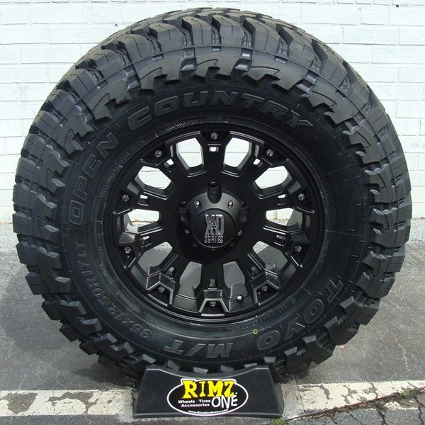 Ford Ranger All Terrain Tires: 18x9 XD 800 Misfit Wheels Matte Black W/ Toyo Open Country