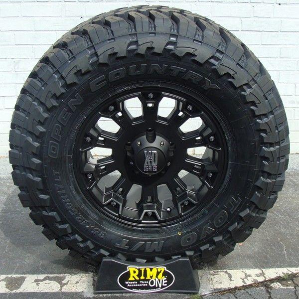 18x9 Xd 800 Misfit Wheels Matte Black W Toyo Open Country