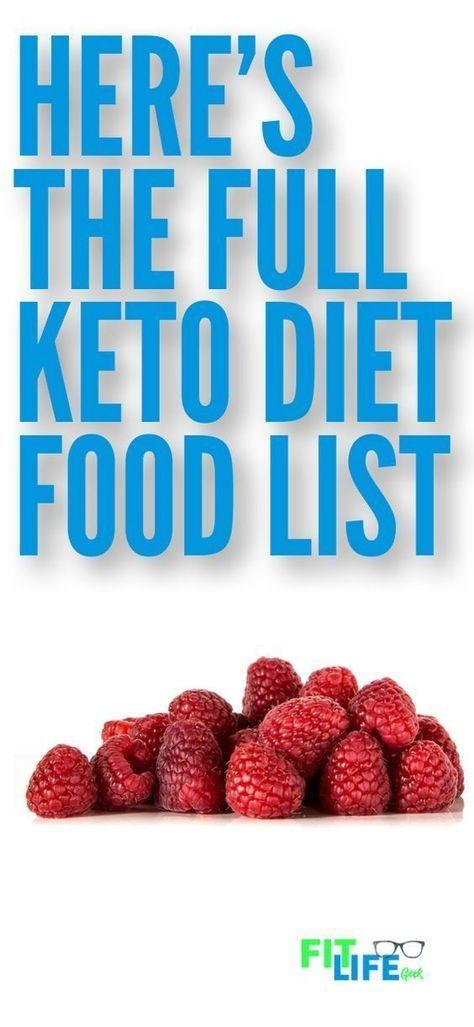 Keto Diet Foods: The Full Ketogenic Diet Food List Amanda Metzger