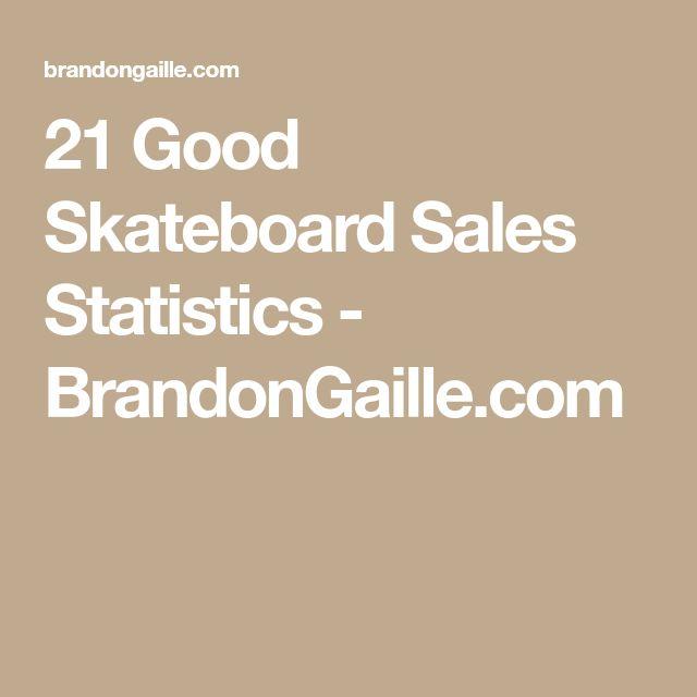 21 Good Skateboard Sales Statistics - BrandonGaille.com