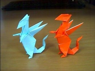 Origami Dragon IV Folding Instructions