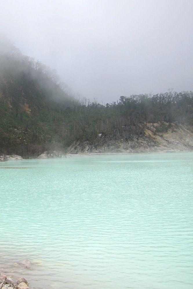 Kawah Putih Crater, west java, Indonesia