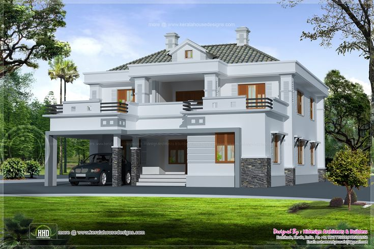 Small house plan house floor plans modern double storey for Small house design facebook