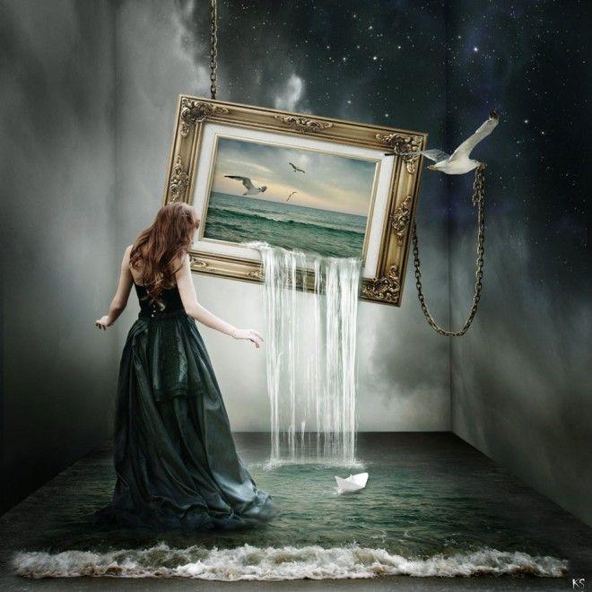 вода сюрреалистическое искусство Сильвией