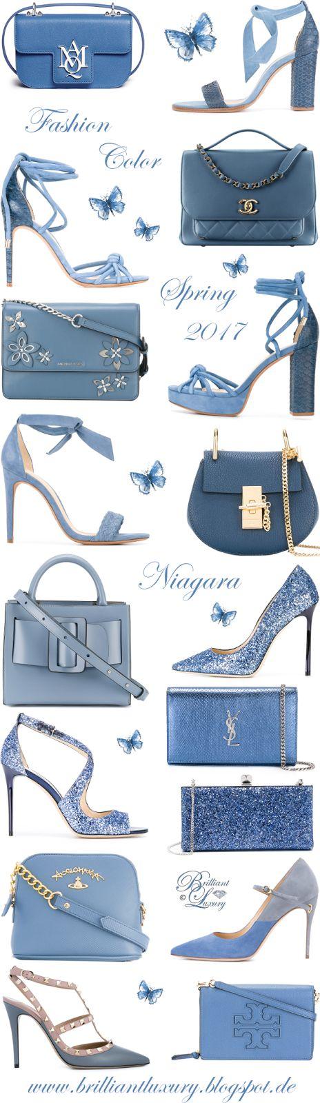 Brilliant Luxury by Emmy DE ♦ Fashion Color Spring 2017 ~ niagara