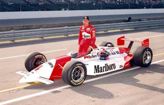 Indy 500 winner 1993: Emerson Fittipaldi  Starting Position: 9  Race Time: 3:10:49.860  Chassis/engine: Penske/Chevy Indy V8C