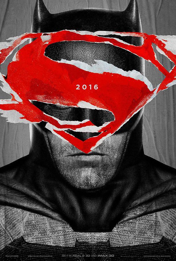 Batman vs superman A Origem da Justiça pôsteres logo