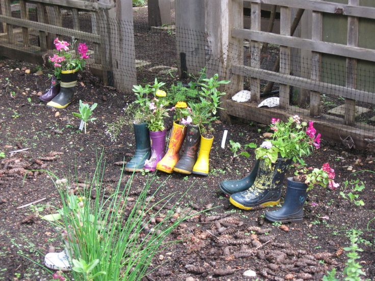 good use for old boots