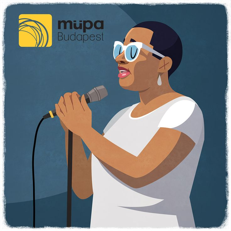 With our exclusive series, we will be reworking a great moment from the previous weeks. Look out for these fun creations on Instagram, Pinterest and Facebook! This creation is based upon Cecile McLorin Salvant's marvellous performance from last week. Based upon this photo: https://www.facebook.com/MupaBudapest/photos/a.10153440606261129.1073741913.62406706128/10153443052916129/?type=3&theater #szeretekittlenni #cecilemclorinsalvant #müpa #mupa #mupabudapest #instavideo #drawing #instadraw #i
