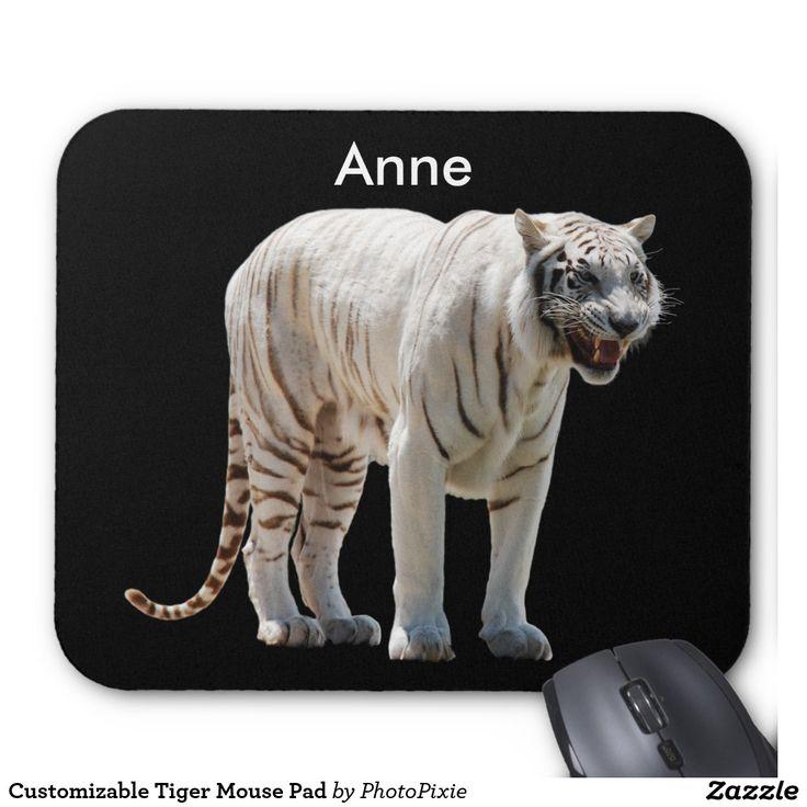 Customizable Tiger Mouse Pad
