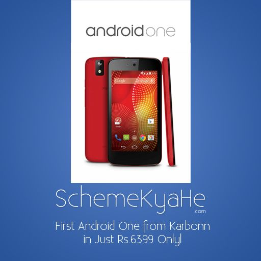 The First Android One for Sales in India from Snapdeal