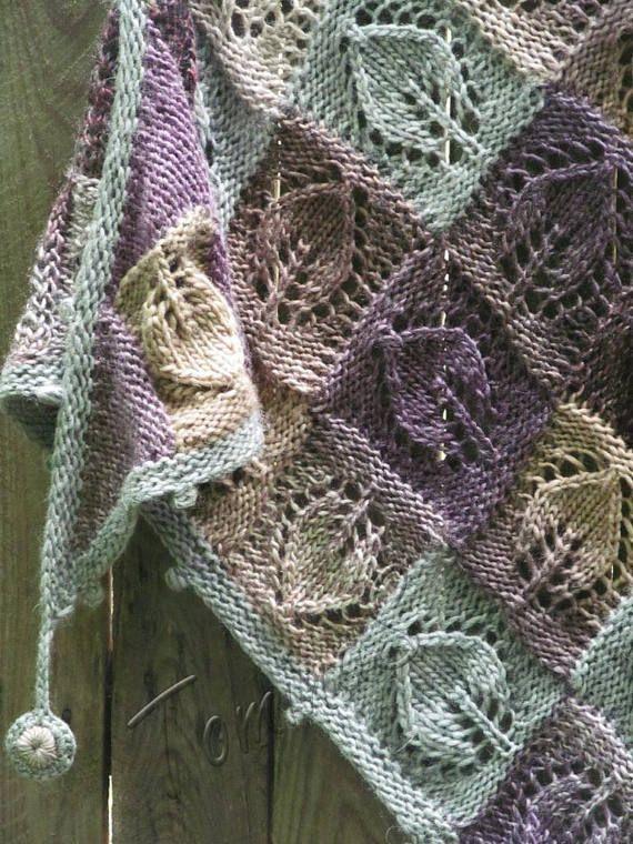 Châle châle de laine tricotés à la main tricoté en laine