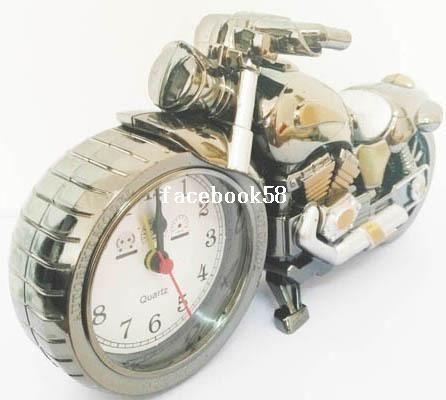 quente vender moda motocicleta relógio despertador amp; relógio de mesa amp; moto relógio do material do