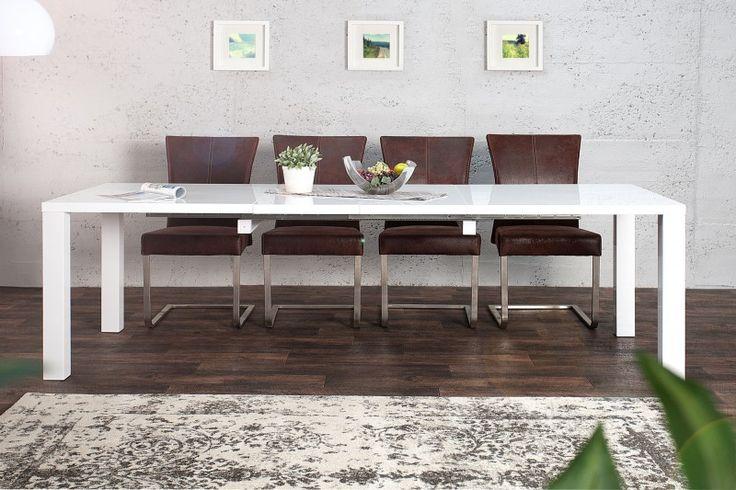Kúpte si u nás produkt Jedálenský stôl Lucente XL 160-240cm hochgl. biela za akciovú cenu. Rýchle dodanie tovaru, ponúkame výrazné zľavy až do 33 percent!