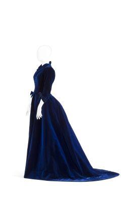 Woman's gown from Hallwylska museet, Swedish.