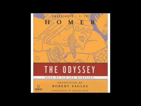 Odyssey Book 3 translated by Fagles read by Ian McKellan - YouTube