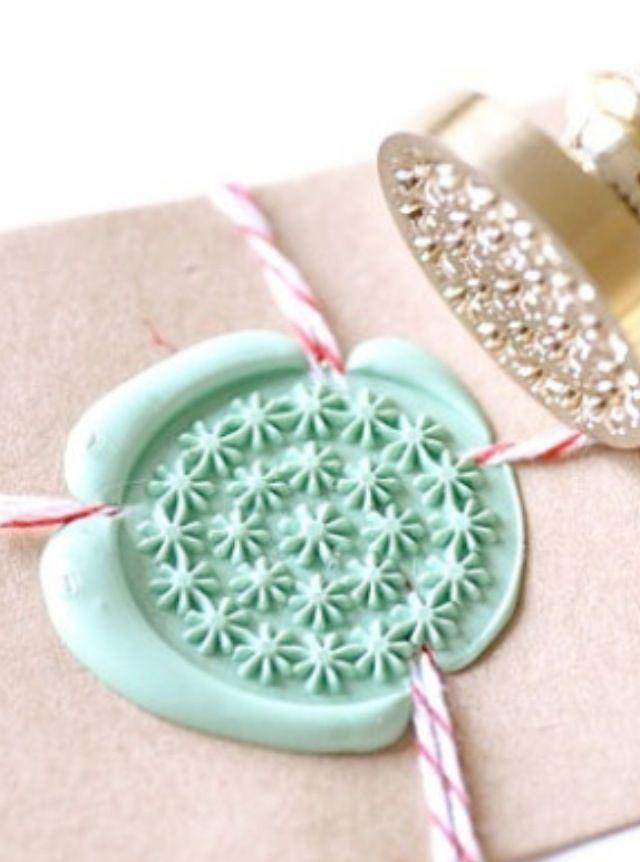 ~Mooie zelfgemaakte zegel-verpakking~