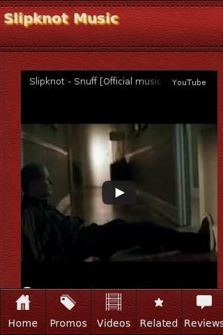<b>Slipknot Music</b><br>The unofficial Slipknot Music app.<p><b>Slipknot Music</b><br>• Slipknot - Snuff [Official music video]<br>• Slipknot Dead Memories Full Version Official Music Video With Lyrics Full HD YouTube<br>• Slipknot Duality Music Video.<br>• Slipknot - Dead Memories Music Video<br>• Slipknot - Clown & Joey Interview - Much Music Canada 2000 - Rare<br>• Slipknot - Psychosocial (Official Video)<br>• Golden Gods Awards 2013 Best Live Band Slipknot<br>• Insane MTB Extreme…