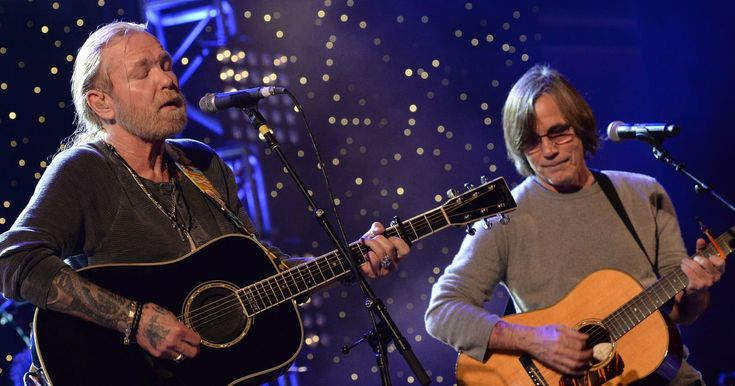Jackson Browne praised Gregg Allman's soulful vocals in a touching tribute to his late friend and frequent collaborator.