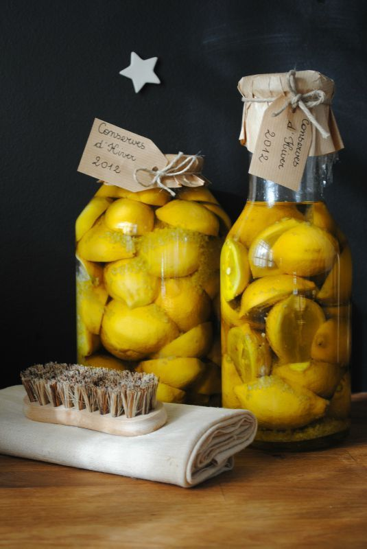 citrons confits ;-)
