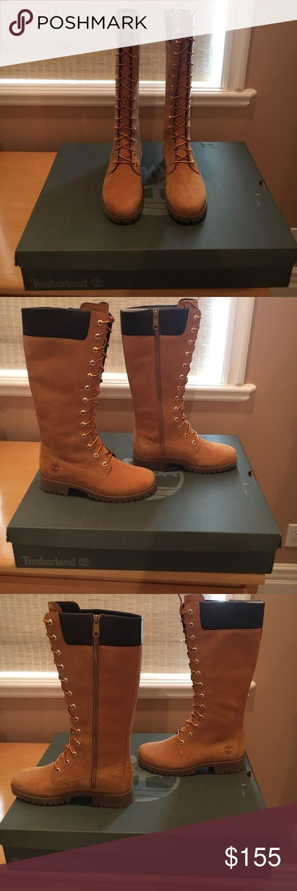 Spotted while shopping on Poshmark: Timberland brand new. Never worn boots! #poshmark #fashion #shopping #style #Timberland #Shoes