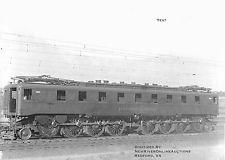 PRR ... c. 1917 B&W Photo Reprint 8.5x11 PRR FF1 Electric Locomotive Big Liz Railroad