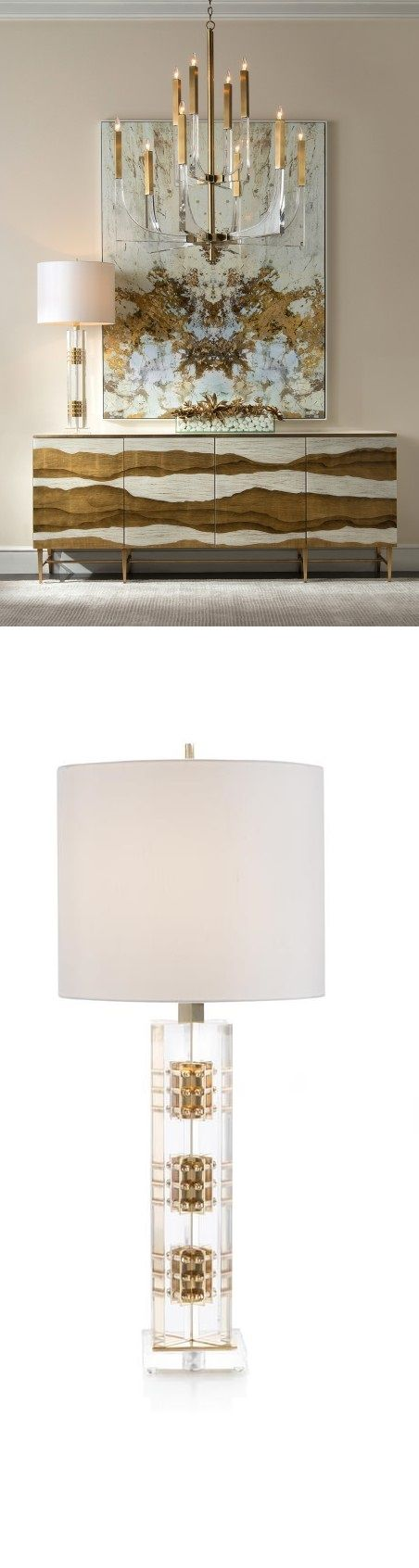 Metallic foil inspiration for sophisticated modern  interior design