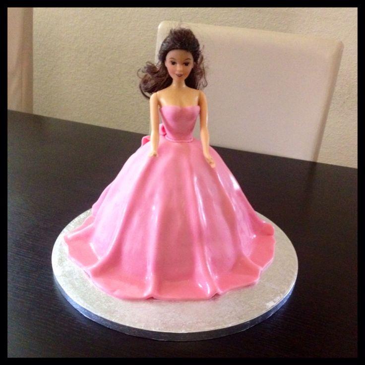 Doll cake Pink cake