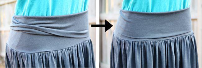 DIY knit skirt from Make It, Love It... love it.