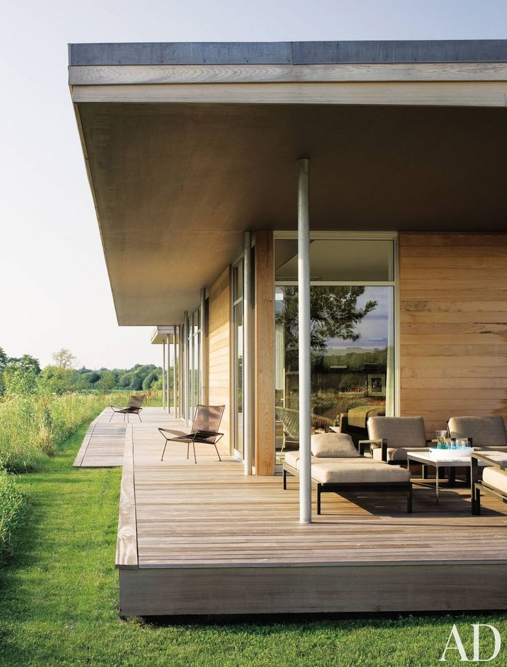 Love how this weekend feels like part of the landscape. #dreamhouseoftheday via Architectural Digest