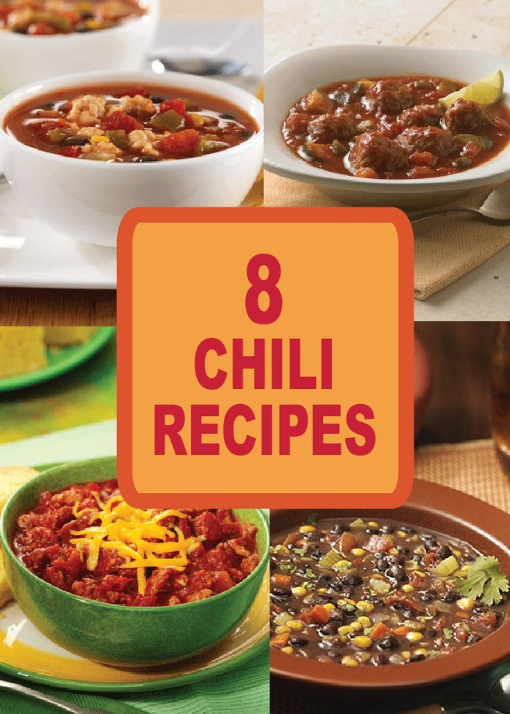 All recipes chili easy