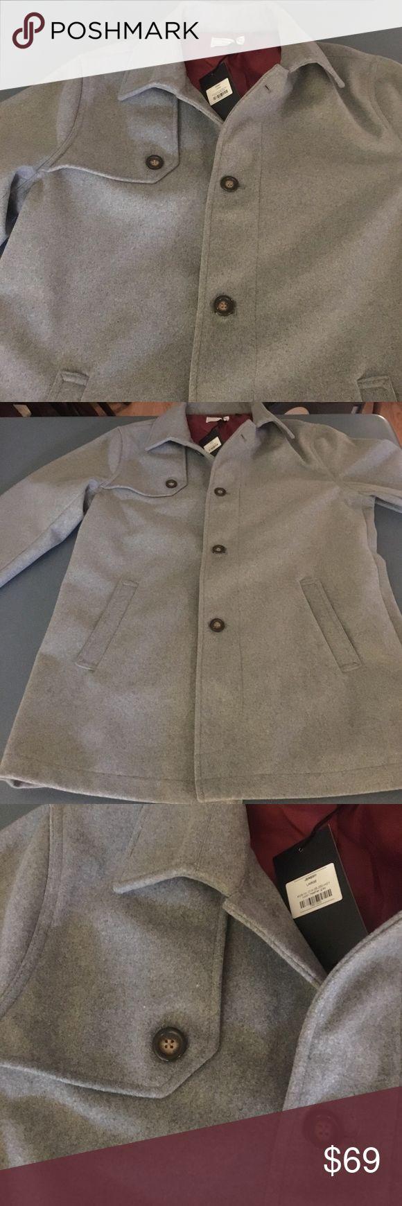 Heather Gray PeaCoat - Brand New - Large Heather Gray PeaCoat - Brand New - Large Jackets & Coats Pea Coats
