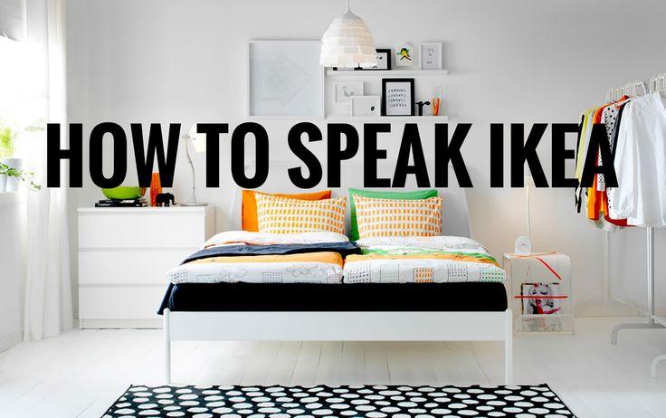 Your Guide to (Finally) Understanding IKEA Names | Ikea ...