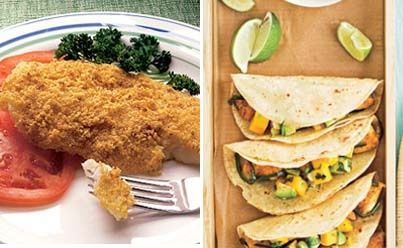 24 best images about cook once eat twice on pinterest for How to cook cod for fish tacos