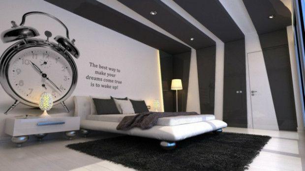 Idee Deco Chambre Gris Blanc En 2020 Deco Chambre Noir Et Blanc Chambre Grise Et Blanche Chambre Grise