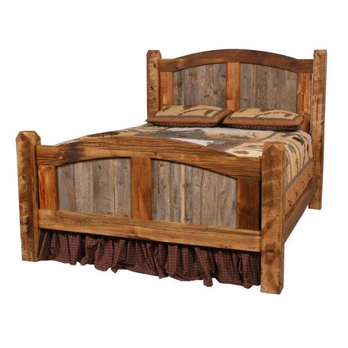 16b9cc34e5f728c767625ffa29642538 Western Headboard Rustic Bed Jpg