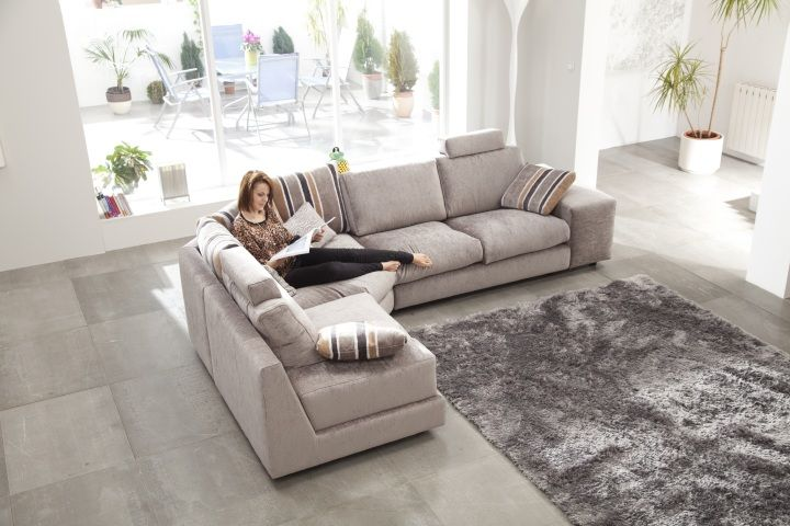 8 best sof modelo calisto de fama images on pinterest - Telas para tapizar sofas ...