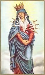 7 Sorrows of Mary Prayer - Bing images